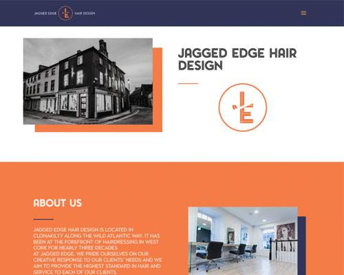 Jagged Edge Hair Design